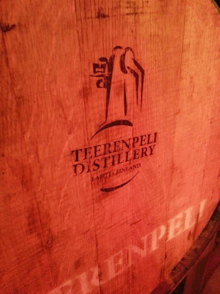 Teerenpeli's single malt whisky cask