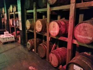 Teerenpeli barrels