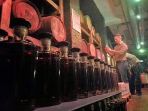 Teerenpeli distillery warehouse tour