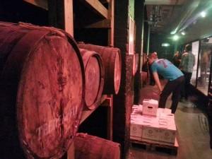 Teerenpeli whisky casks