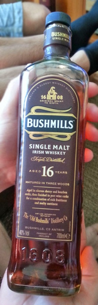 "Review of Bushmills 16 yrs ""Three Wood"" single malt whiskey"