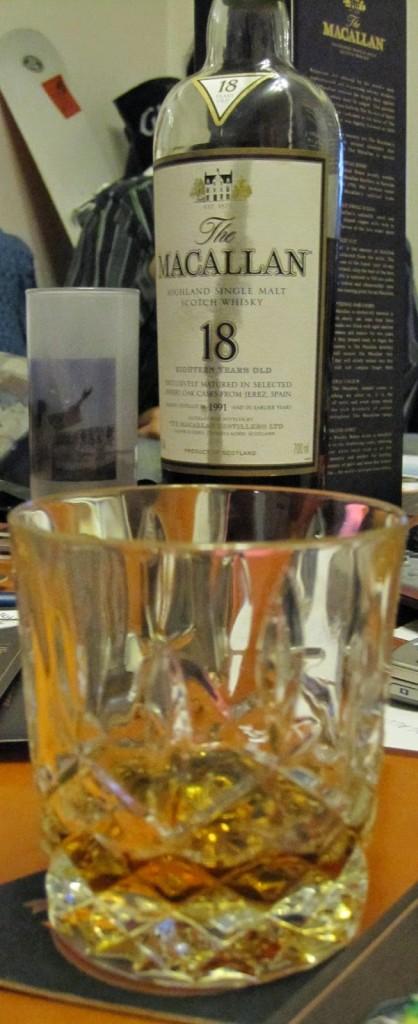 Single malt whisky with sherry finish