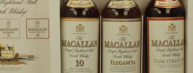 Macallan tripack closeup