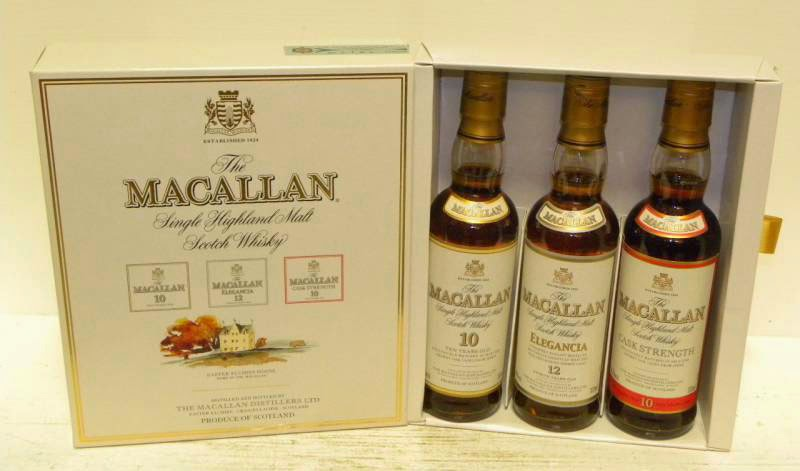 Macallan 12YO Elegancia and 10YO cask strength reviews
