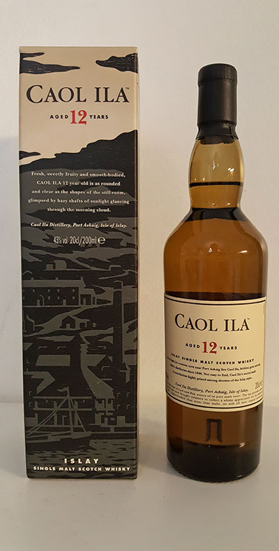 Caol Ila 12 year old single malt whisky review