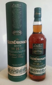 GlenDronach 15 year old Revival single malt whisky review