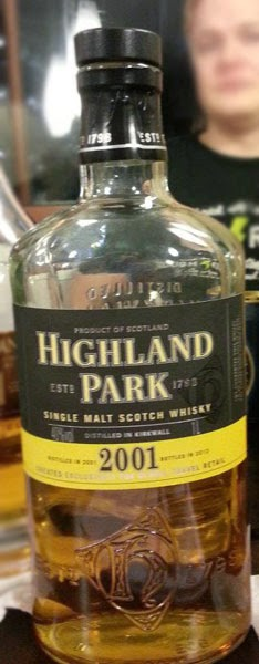 Distilled 2001, bottled 2012 – WhiskyRant! review of Highland Park 2001