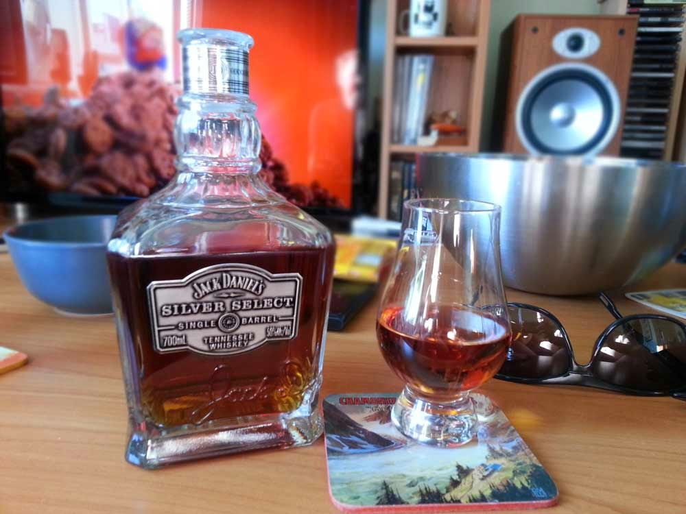 Jack Daniel's Silver Select Single Barrel Tennessee Whiskey