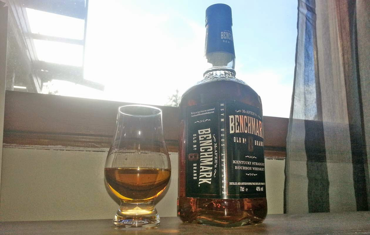 Benchmark old 8 bourbon review by WhiskyRant!