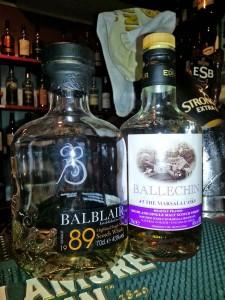 Balblair Vintage 1989 & Ballechin #5 Marsala Casks in Kerttulin Kievari