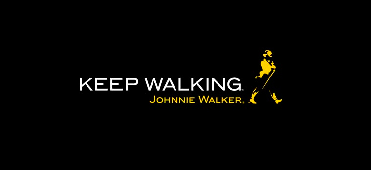 Johnnie Walker logo - Keep walking