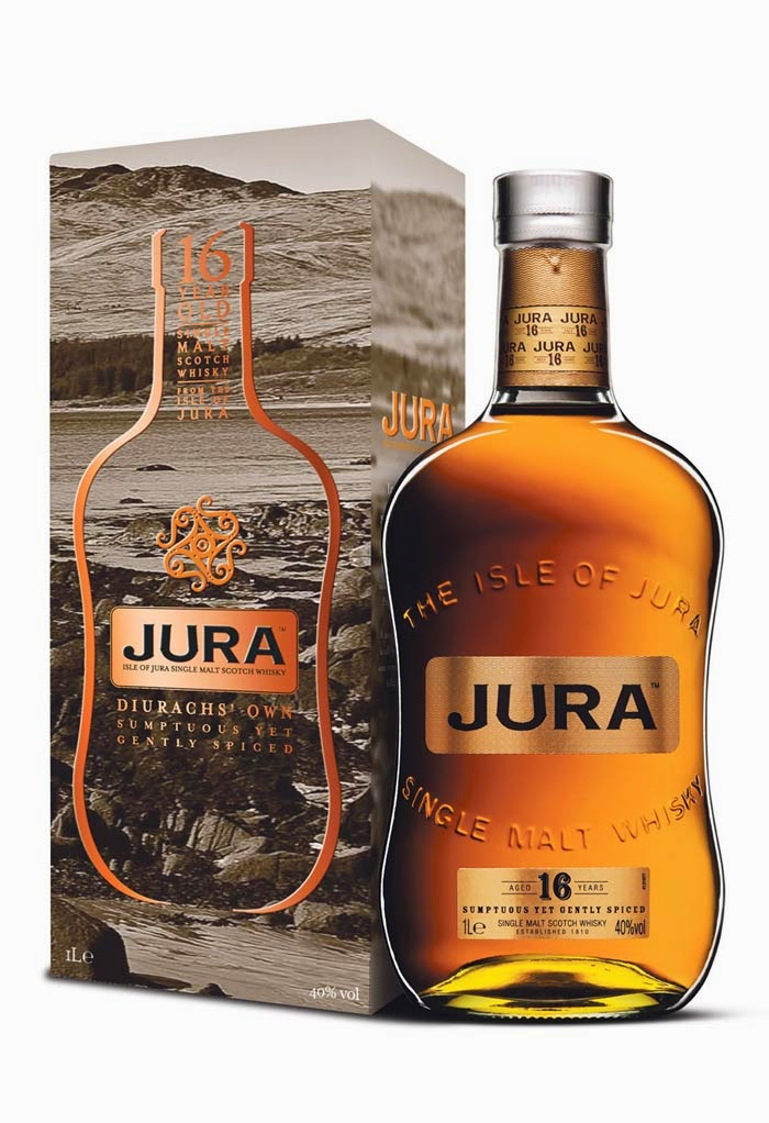 WhiskyRant! review of Isle of Jura 16 yo single malt