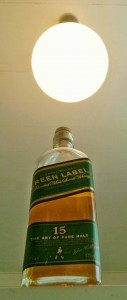 Johnnie Walker Green Label 15 year old blended malt whisky review