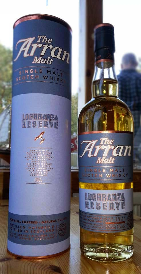 WhiskyRant! review of Arran Lochranza Reserve single malt