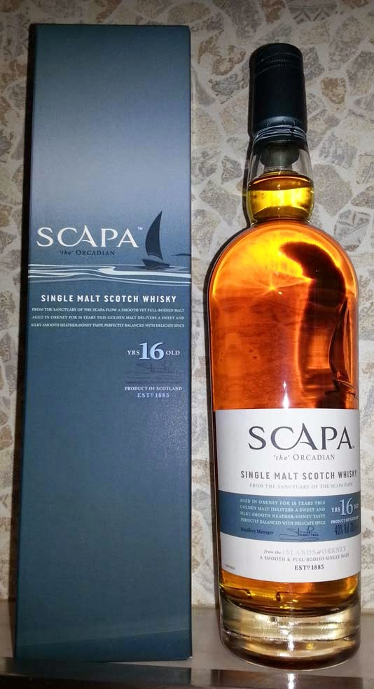 WhiskyRant! review of Scapa 16 year old single malt