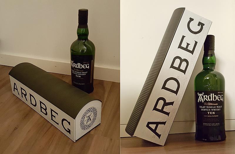 Ardbeg Ten Warehouse Package design