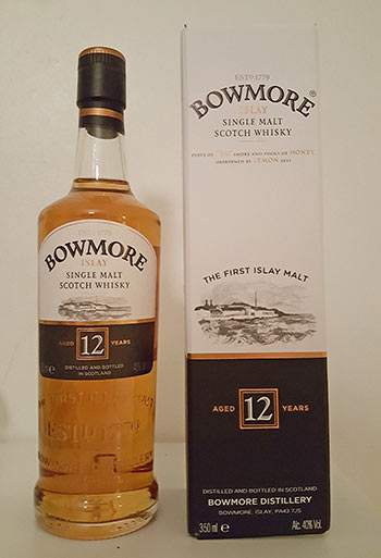 Bowmore 12 year old single malt whisky review