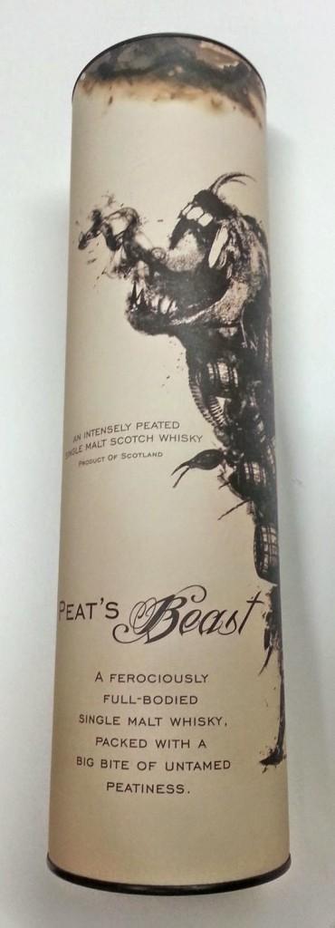 Review of Peat's Beast Peated single malt