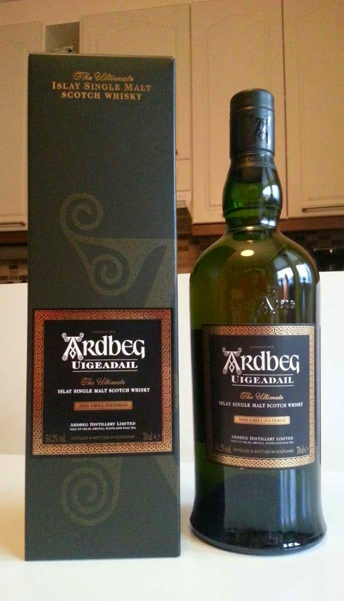 Ardbeg Uigeadail single malt whisky review