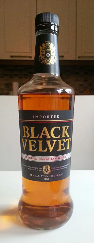 WhiskyRant! review of Black Velvet Blend