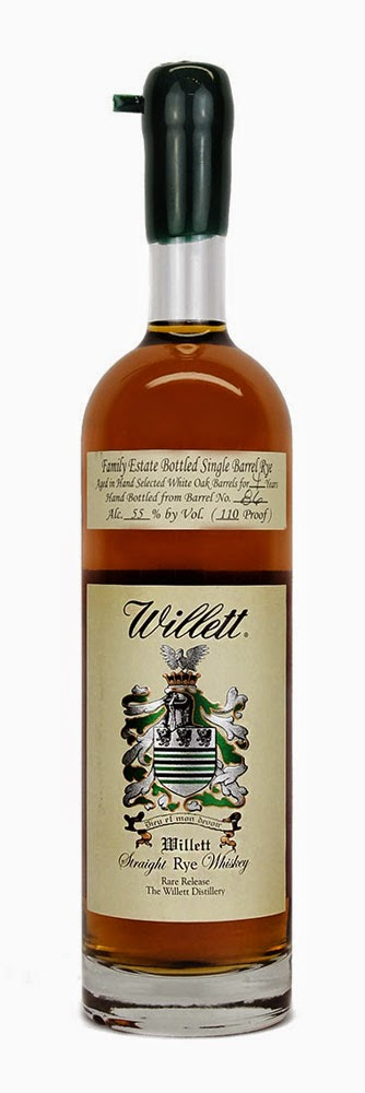 WhiskyRant! review of Willett Family Estate Single Barrel Rye Whiskey