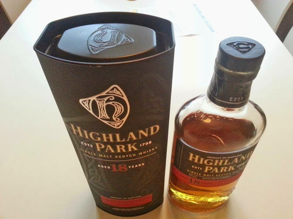 Highland Park 18 year old whisky review