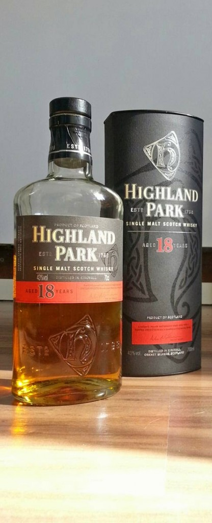 WhiskyRant review of Highland Park 18YO single malt
