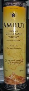 Amrut Single Malt Whisky review