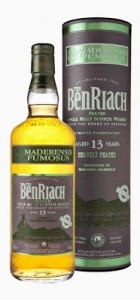 BenRiach 13 year old Maderensis Fumosus, the Madeira Finish