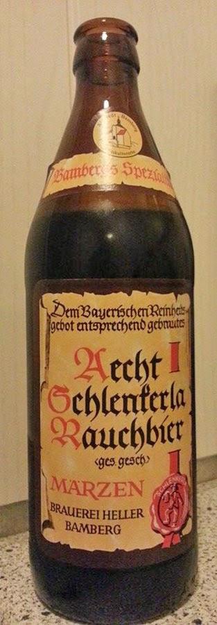 WhiskyRant review of Schlenkerla Rauchbier smoked beer