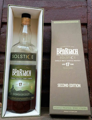 BenRiach 17 year old Solstice single malt whisky review