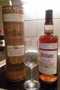 BenRiach 1994 18 year old Tawny Port Finish | bottled for Finland
