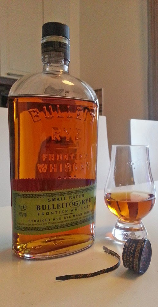 "WhiskyRant review of Bulleit ""95"" Rye Whiskey"