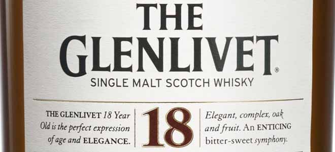 Glenlivet 18 label featured image