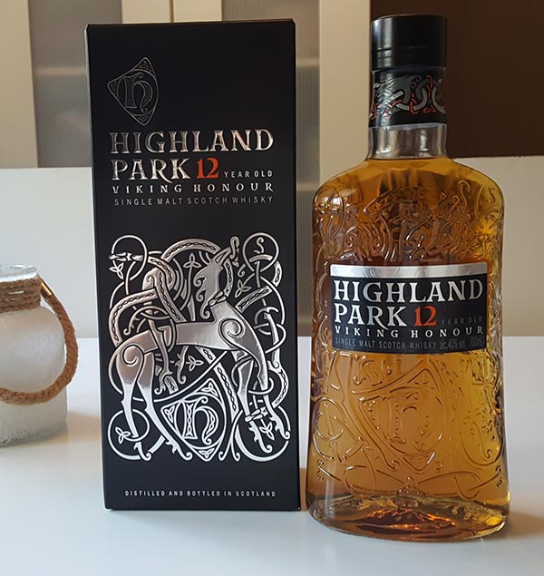 Highland Park 12 year old new bottling - the Viking Honour