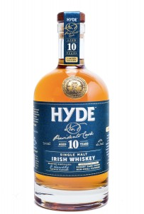 Hyde 10 year old single malt – Irish whiskey from Cooley distillery by Hibernia Distillers