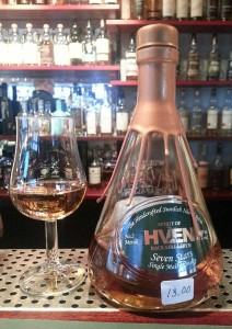 Spirit of Hven No 2 Merak whisky review