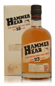 Hammer Head 23yo single malt whisky distilled in 1989