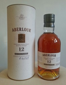 Aberlour 12yo non chill-filtered review