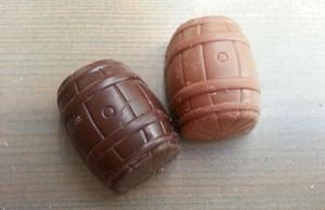 Dammenberg whisky choco. Chocolat made using Laphroaig 10YO