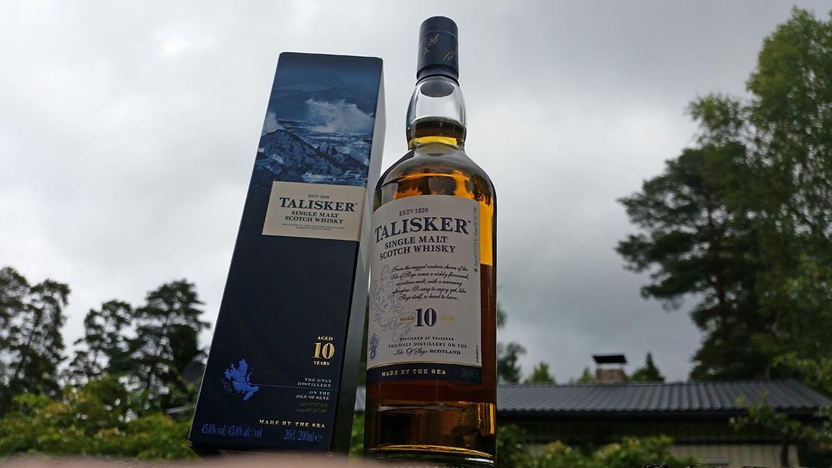 Превосходный виски Talisker 10 YO (Талискер) 1л купить