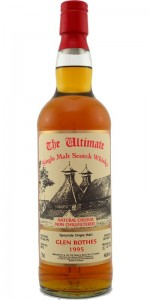 The Ultimate Glenrothes 17yo single cask whisky from 1995