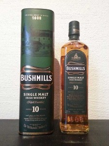 Bushmills 10 year old single malt whisky review