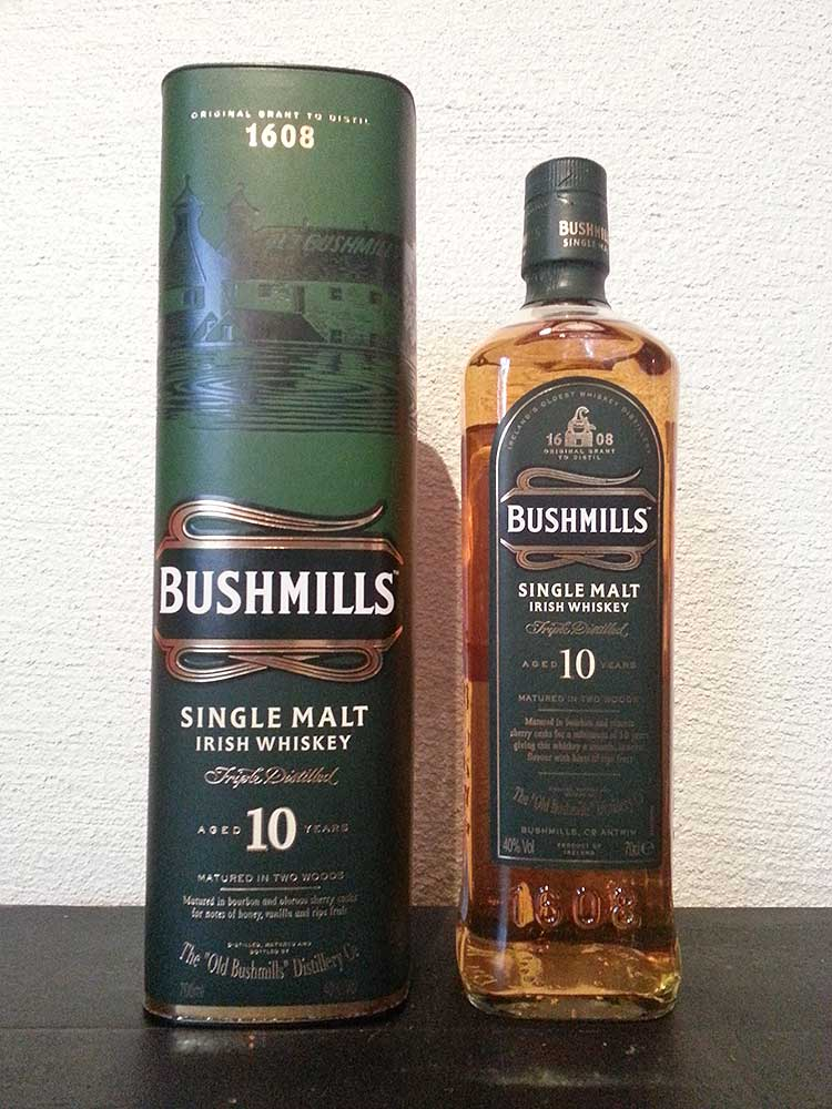 Bushmills 10 Year Old : The Whisky Exchange