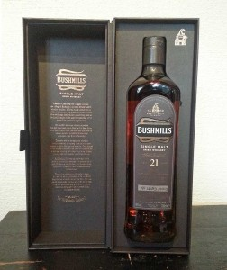 Bushmills 21yo Rare review