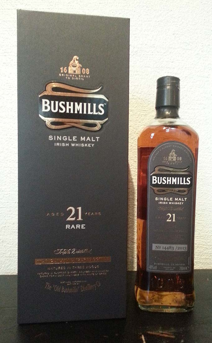Bushmills 21 year old review