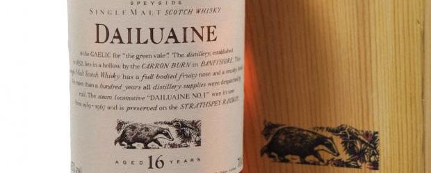 Dailuaine 16yo feature image