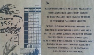 Interesting fact about Mackmyra whisky warehouse