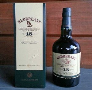 Redbreast 15 year old Irish Single Pot Still Whiskey review