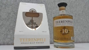 Teerenpeli 10 year old whisky out of its package